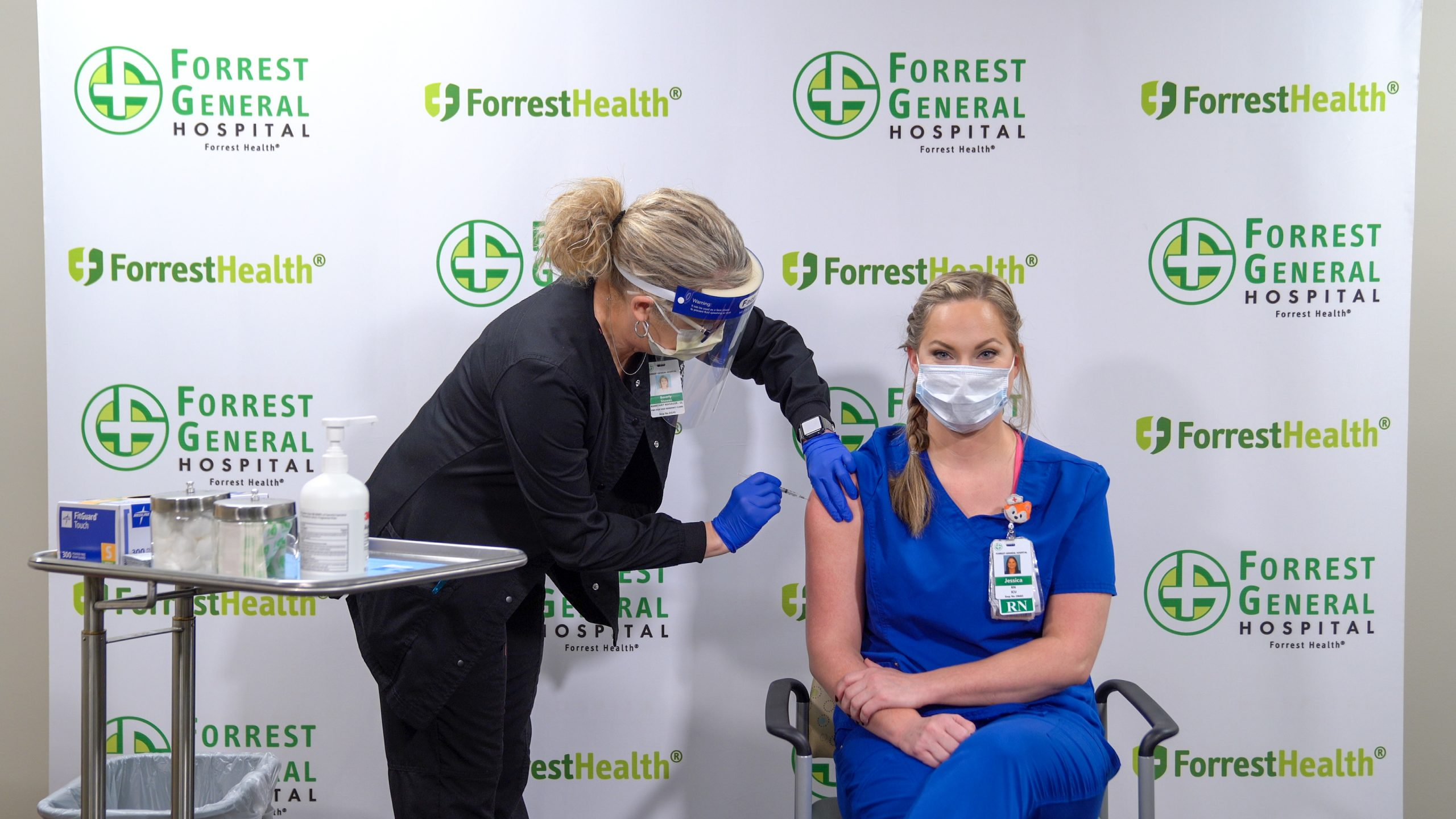 Forrest General Hospital Employees Begin Receiving COVID-19 Vaccine
